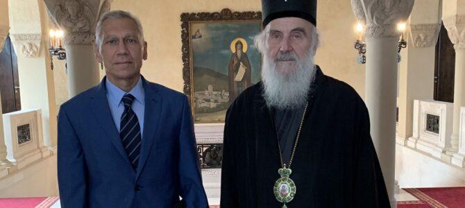 Патријарх српски г. Иринеј примио Амбасадора Руске Федерације