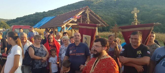 Код Часног Крста у насељу Думбово обележен празник Усековања главе Светог Јована Крститеља