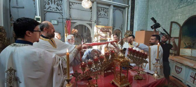 Света Архијерејска Литургија у Манђелосу