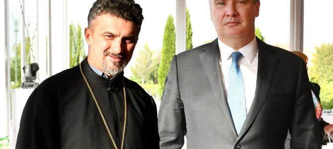 Председник Републике Хрватске Зоран Милановић поводом Дана града сусрео се с парохом Илочким