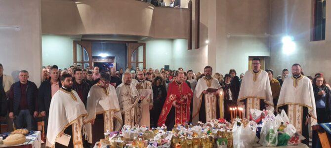 Прослављена храмовна слава у Новој Пазови