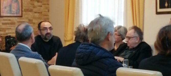 Одржано предавање о празнику Покрова Пресвете Богородице у Сремској Митровици