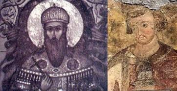 Свети краљ Владислав и Свети Давид, кнез српски