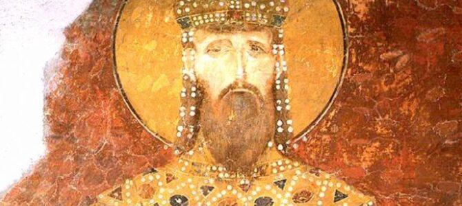 Свети краљ Милутин