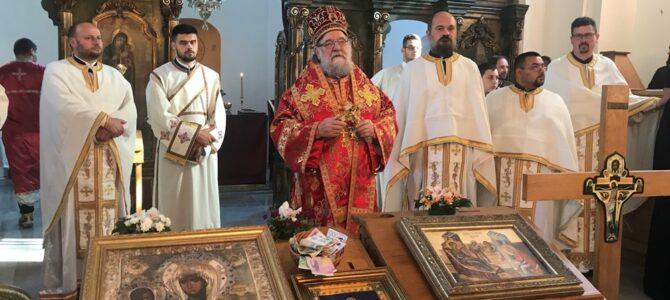 Епископ сремски г. Василије освештао обновљену цркву Светог Јована Претече у Петровчићу