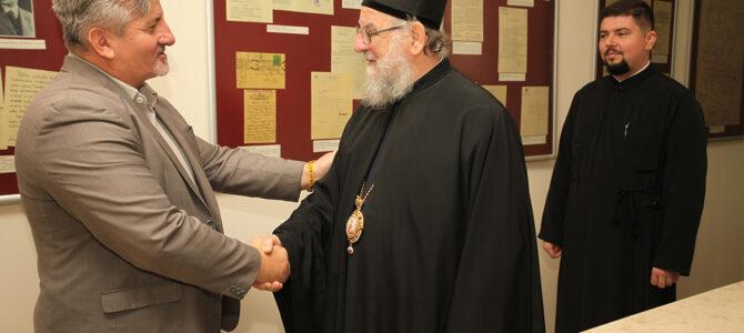 Епископ сремски г. Василије у посети Архиву Војводине