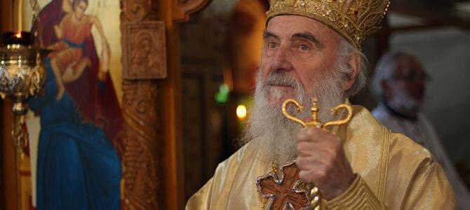 Патријарх српски г. Иринеј позитиван на SARS CoV2