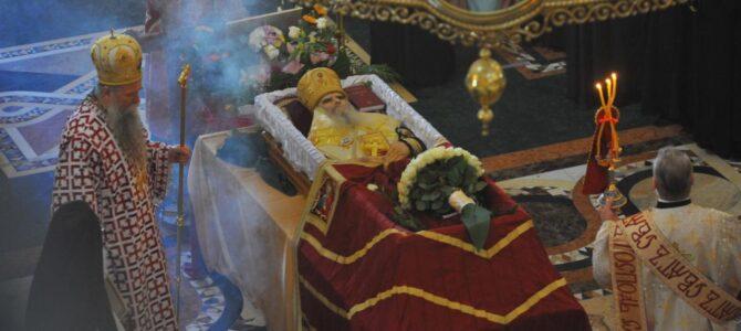 У подгоричком Саборном храму сахрањен митрополит Амфилохије