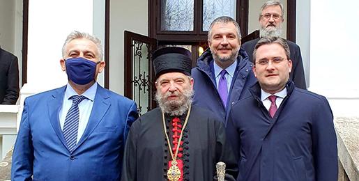 Министар Селаковић у посети Будимској епархији