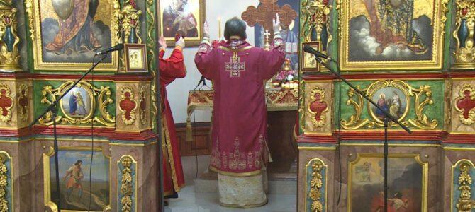 Беседа Епископа Стефана у храму Светог оца Николаја у Земуну