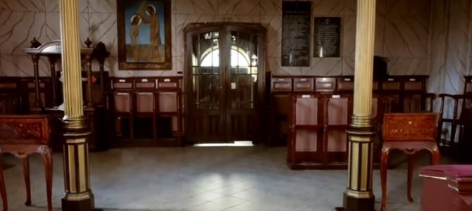 Храм Светог Оца Николаја у Шиду – снимак унутрашњости