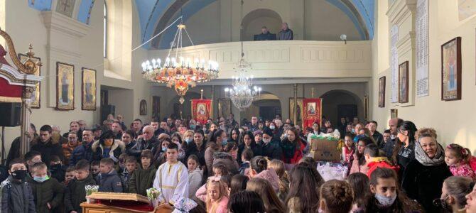 Прослава Светог Саве у Бешки