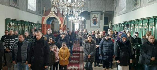 Св. Сава литургијски прослављен у Вазнесењском храму у Руми