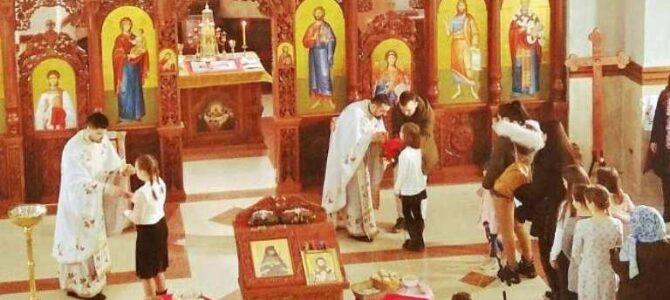 Прослава Светог Саве у храму Светог Јована Шангајског у Батајници