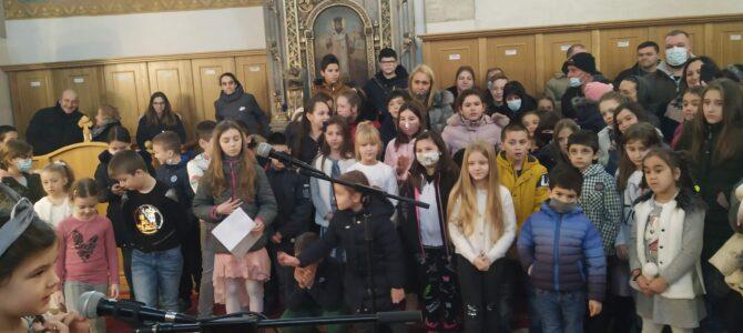 Свети Сава и деца – деца чувају српске славе