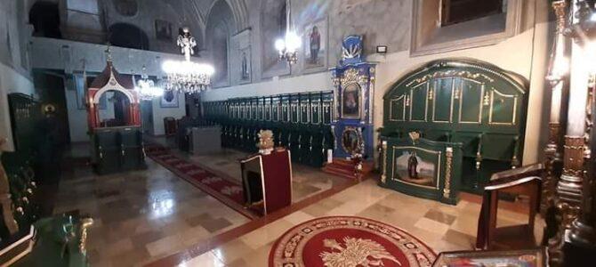 Најава: Богослужење у храму Вазнесења Господњег у Руми
