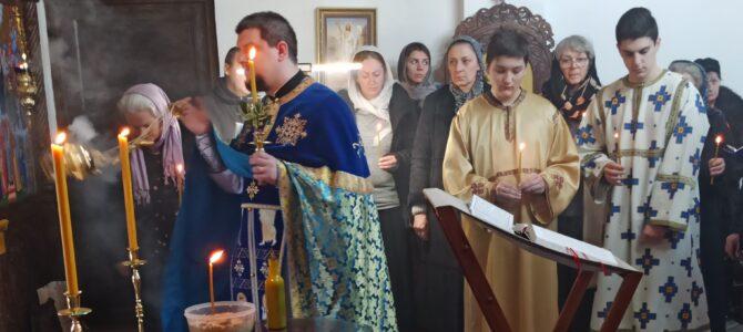 Празник Сретења Господњег литургијски прослављен у Покровском храму у Петроварадину