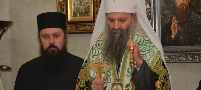 Патријарх српски Порфирије посетио манастир Јасеновац