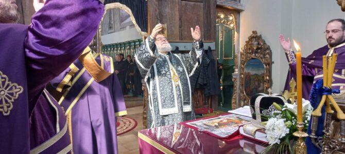 Света архијерејска Литургија пређеосвећених дарова у Руми и исповест свештенства и вероучитења румског намесништва