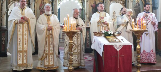Прослављена храмовна слава у Крњешевцима