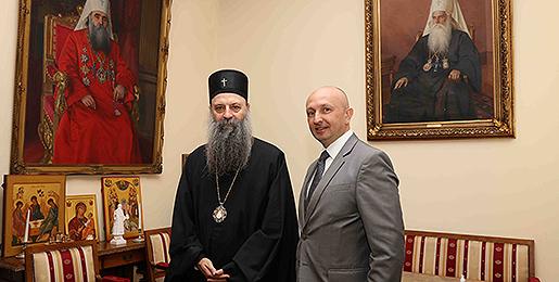 Патријарх српски примио Амбасадора Србије у Бугарској