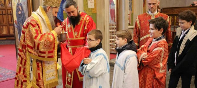 Патријарх Порфирије: Наш живот је крст, а сам крст је дар Божји