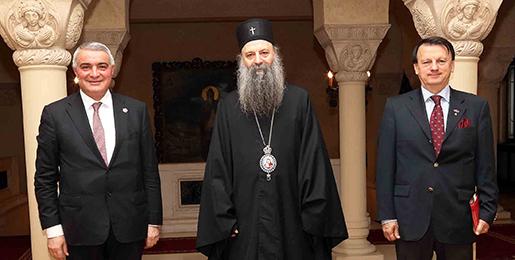 Патријарх српски примио Амбасадора Јерменије