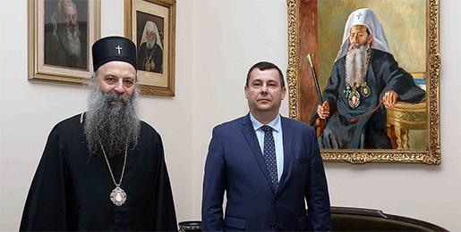 Патријарх српски примио Амбасадора Мађарске