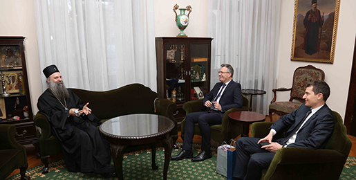 Патријарх српски примио Амбасадора Словеније