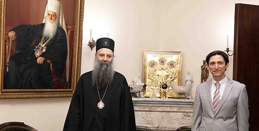 Патријарх српски примио Амбасадора Украјине