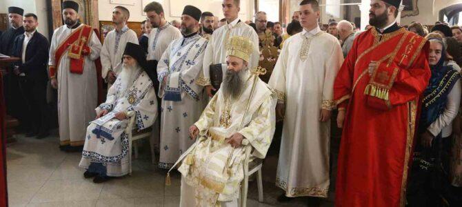 Патријарх Порфирије рукоположио ђакона др Србољуба Убипариповића у свештенички чин