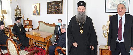 Патријарх српски примио амбасадора Русије у Хрватској