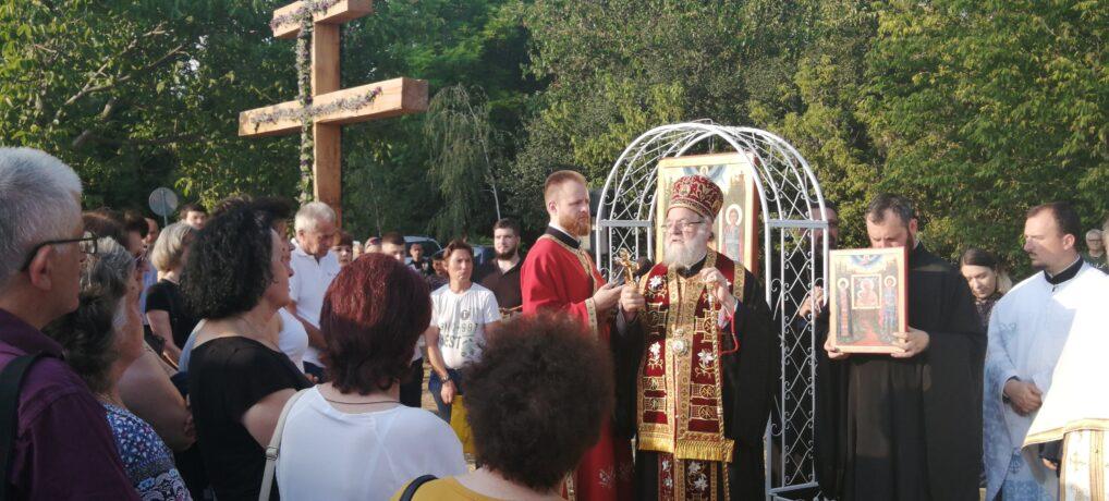 Освештано земљиште за нови храм у Руми