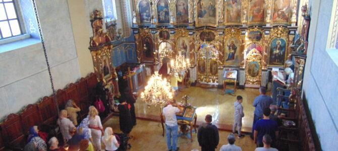 Усековање главе Светог Јована Крститеља у цркви Свете Петке у Сурчину