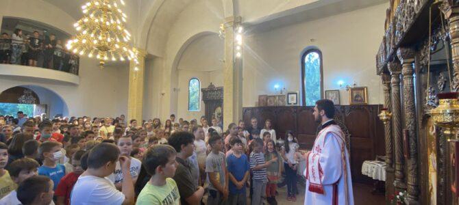 Молебан за почетак нове школске године у Старој Пазови