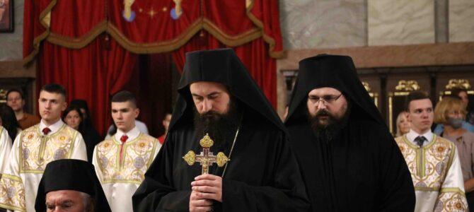 Хиротонија Епископа хвостанског Јустина (Јеремића), викара Патријарха српског