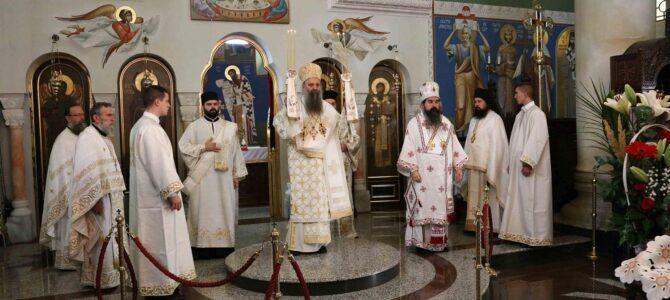 Патријарх Порфирије: Крст је символ распећа, али истовремено и символ победе