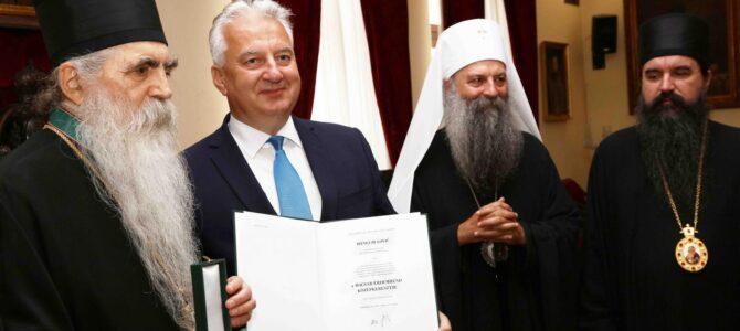 Eпископ бачки Иринеј одликован мађарским ордeном за допринос на историјском помирењу два народа