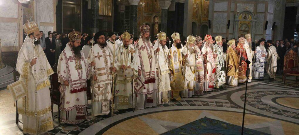 Хиротонија Епископа марчанског Саве, викара Патријарха српског