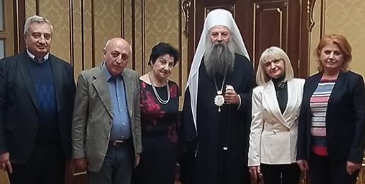 Патријарх Порфирије примио делегацију из Јерменије