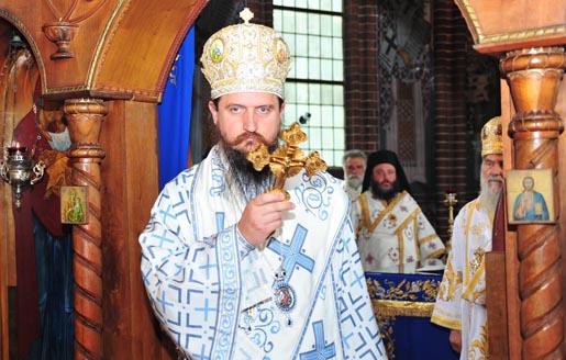 Устоличен епископ средњоевропски Г. Сергије