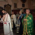 Освећење црквене сале у Попинцима