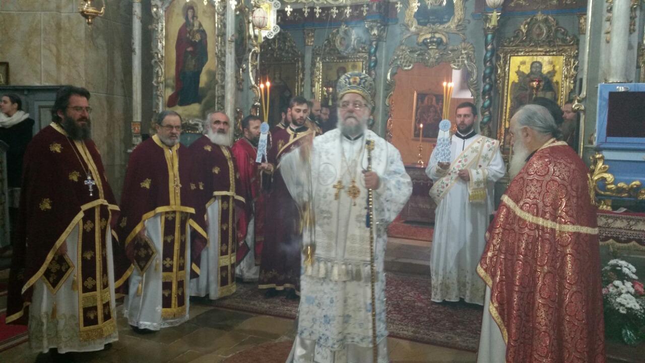 Света архијерејска Литургија у Јаску