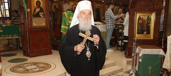 Подсећање: Патријарх српски г. Иринеј сутра богослужи у Београду