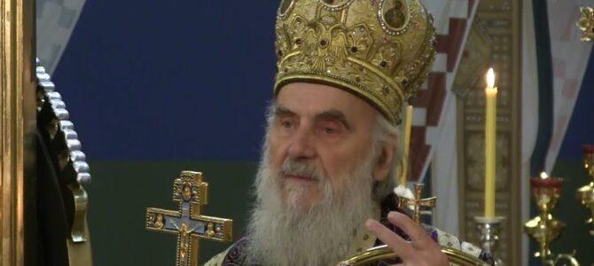 Најава: Патријарх српски г. Иринеј у недељу на храмовној слави у Миријеву