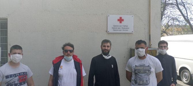 Хуманитарна акција Цркве и Црвеног крста у Сусеку