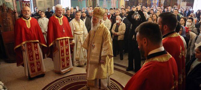 Патријарашка Литургија у храму Светог Јована Владимира