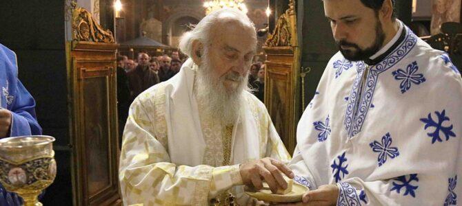 Патријарх српски г. Иринеј богослужио у Вазнесењској цркви