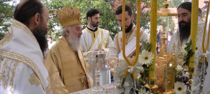 Патријарх српски г. Иринеј освештао Преображењски храм у Пролом Бањи
