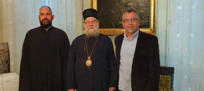 Директор ОШ из Лаћарка у посети Епископу сремском